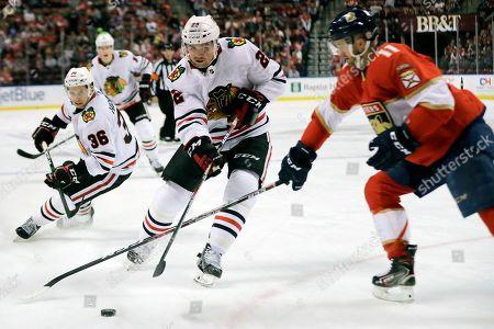Editorial photo of Blackhawks Panthers Hockey, Sunrise, USA - 29 Feb 2020