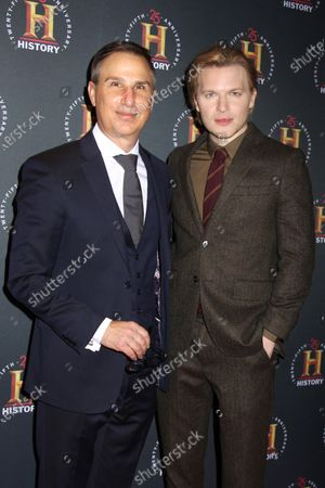 Paul Buccieri and Ronan Farrow