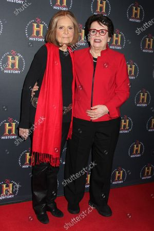 Gloria Steinem and Billie Jean King
