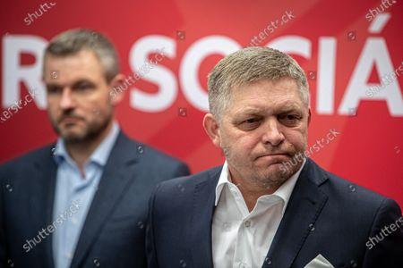 Editorial image of Slovakia's parliamentary election 2020, Bratislava, Slovakia Slovak Republic - 01 Mar 2020