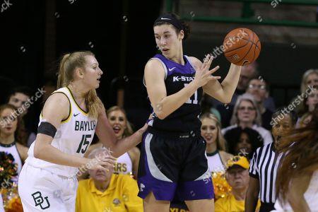 Editorial photo of Kansas St Baylor Basketball, Waco, USA - 29 Feb 2020