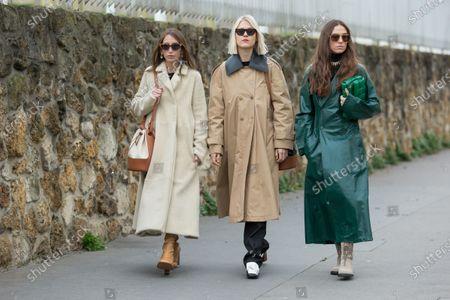 Chloe Harrouche, Linda Tol and Erika Boldrin