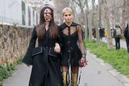 Evangelie Smyrniotaki and Caroline Daur