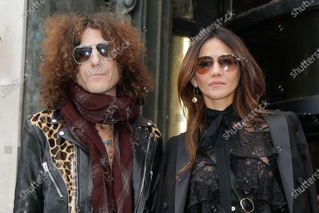 Craig Ross and his wife Goya Toledo