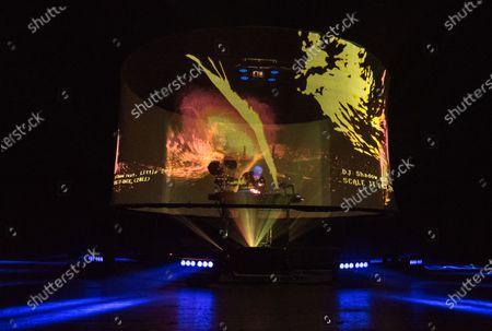 Stock Image of DJ Shadow - Joshua Paul Davis