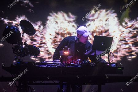 Stock Photo of DJ Shadow - Joshua Paul Davis