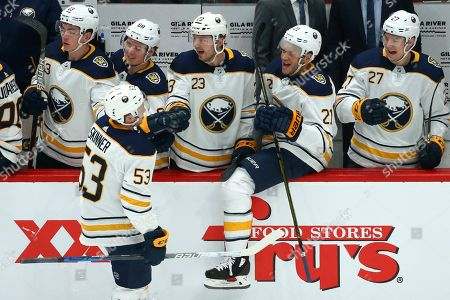 Editorial photo of Sabres Coyotes Hockey, Glendale, USA - 29 Feb 2020