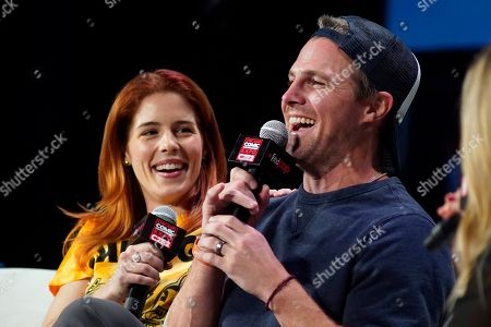 Editorial picture of 2020 C2E2 - Day 2 - A Farewell to Arrow: Stephen Amell & Emily Bett Rickards, Chicago, USA - 29 Feb 2020