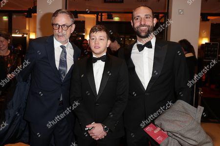Christophe Rossignon, Anthony Bajon and Edouard Bergeon