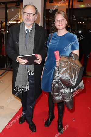 Jean-Pierre Darroussin and his wife