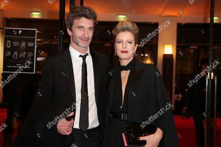 Karine Viard and his boyfriend