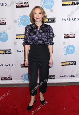 Editorial photo of 'Lost Girls'  film premiere, Arrivals, New York, USA - 29 Feb 2020