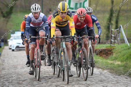 Editorial photo of Omloop Het Nieuwsblad cycling, Belgium  - 29 Feb 2020