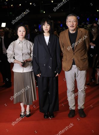 Seo Young-hwa, Kim Min-Hee and Hong Sang-soo.