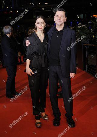 Paula Beer and Christian Petzold.