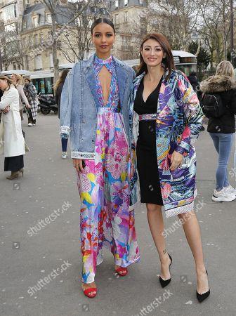Flora Coquerel and Rachel Legrain-Trapani