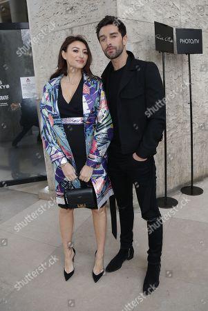 Rachel Legrain-Trapani and Valentin Leonard