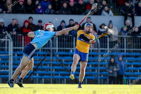 Clare vs Dublin. Dublin's Paddy Smyth and Shane O'Donnell of Clare