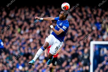 Djibril Sidibe of Everton