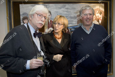 Mike Malloy, Anne Robinson and James Whitaker