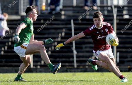 Meath vs Galway. Galway's Michael Daly and James McEntee of Meath