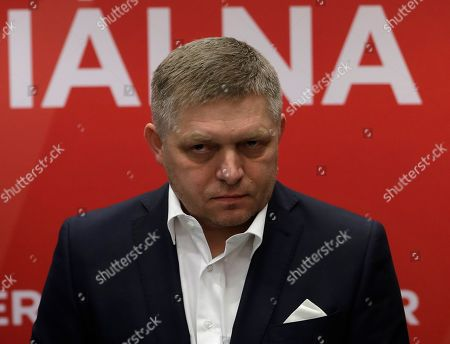 Editorial photo of Election, Bratislava, Slovakia - 01 Mar 2020