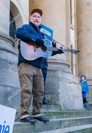 Editorial image of Bernie Sanders election rally at Oxford University, UK - 01 Mar 2020
