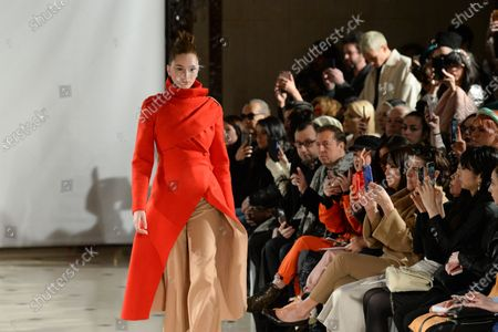 Editorial photo of Fatima Lopes show, Backstage, Fall Winter 2020, Paris Fashion Week - 29 Feb 2020