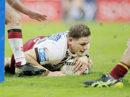 Wigan's last try scored by George Burgess