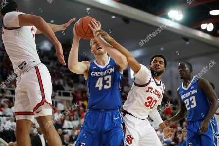 Editorial picture of T25 Creighton St. John's Basketball, New York, USA - 01 Mar 2020