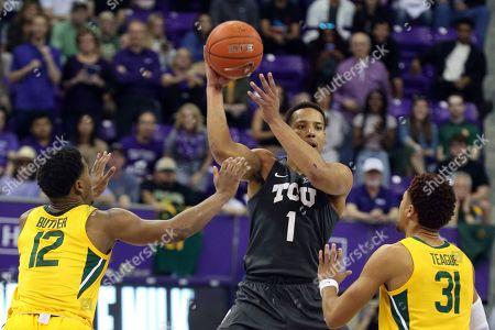 Editorial photo of Baylor TCU Basketball, Fort Worth, USA - 29 Feb 2020