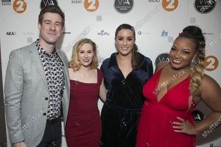 David Hunter, Laura Baldwin, Lucie Jones and Marisha Wallace