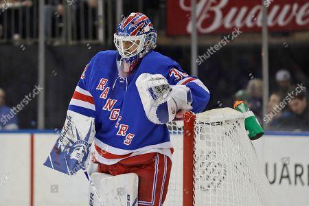 Editorial image of Flyers Rangers Hockey, New York, USA - 01 Mar 2020