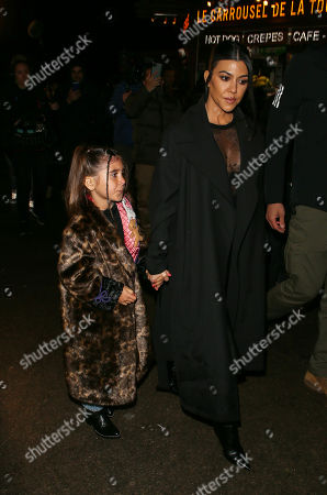 Kourtney Kardashian and Penelope Disick