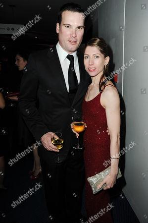 Leanne Benjamin and her partner