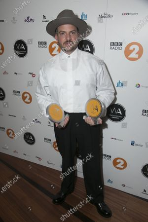 Editorial photo of Whats On Stage Awards, Prince of Wales Theatre, Press Room, London, UK - 01 Mar 2020
