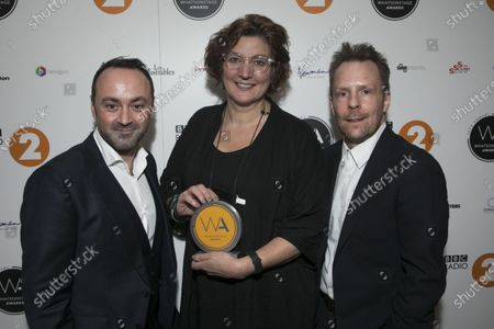 Editorial picture of Whats On Stage Awards, Prince of Wales Theatre, Press Room, London, UK - 01 Mar 2020