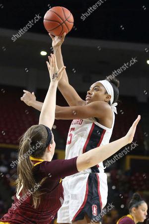 Editorial image of Stanford Arizona St Basketball, Tempe, USA - 01 Mar 2020