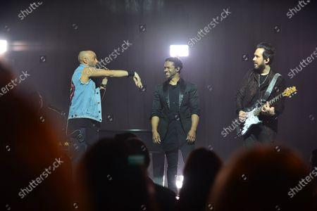 Mario Domm, Pablo Hurtado and Ian Holmes