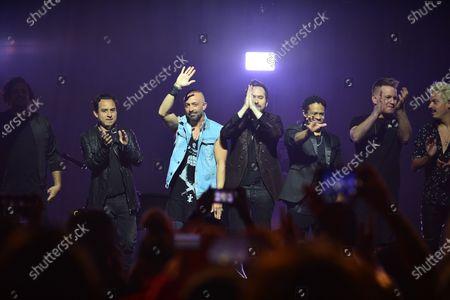 Stock Image of Camila - Enrique Duenas, Luis Cardoso, with Mario Domm, Pablo Hurtado and Ian Holmes, Simon Huber and Simon Huber