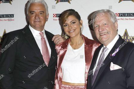 John O'Hurley, Maria Menounos, David Frei