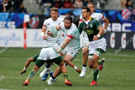 Editorial photo of Los Angeles Sevens Rugby, Carson, USA - 01 Mar 2020