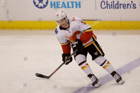 Editorial picture of Flames Panthers Hockey, Sunrise, USA - 01 Mar 2020