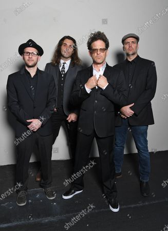 Stock Photo of Amir Tal, Tom Coughter, Jason Newsted and Rob Tucker