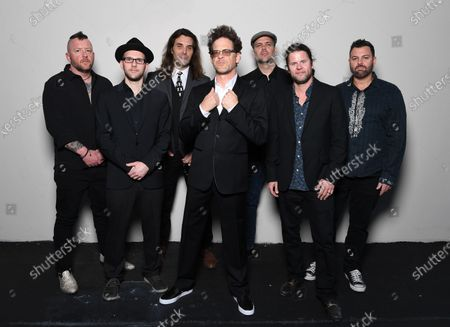 Editorial picture of Jason Newstead & The Chophouse Band photoshoot, Lighthouse Arts Center, Tequesta,  USA - 29 Feb 2020