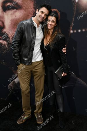 Stock Picture of Gilles Marini and Carole Marini