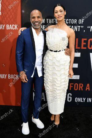 Ravi Mehta and Janina Gavankar