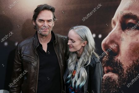 Stock Photo of Billy Burke and Cheyenne Carson