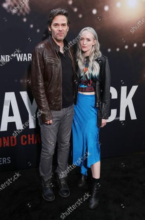 Stock Image of Billy Burke and Cheyenne Carson