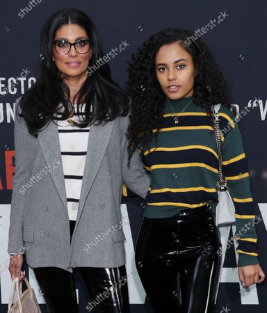 Stock Image of Rachel Roy and daughter Ava Dash